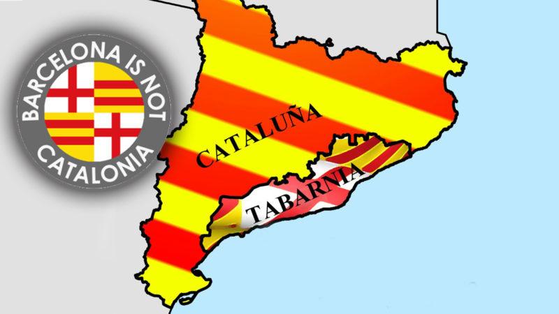 Derecho a decidir. Freedom for Tabarnia Tabarnia