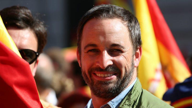 El presidente de VOX, Santiago Abascal