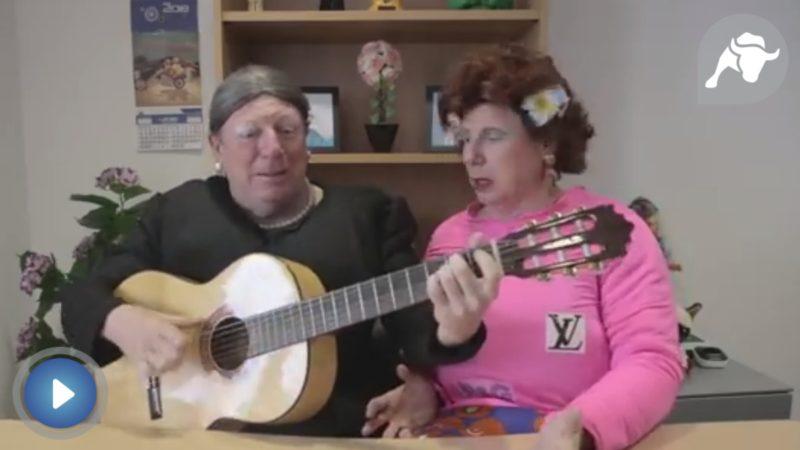 Los Morancos cargan contra la política de pensiones en su última canción
