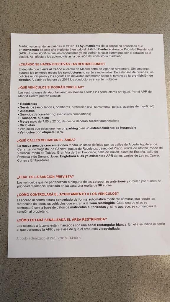 APR captura carta ayuntamiento Madrid