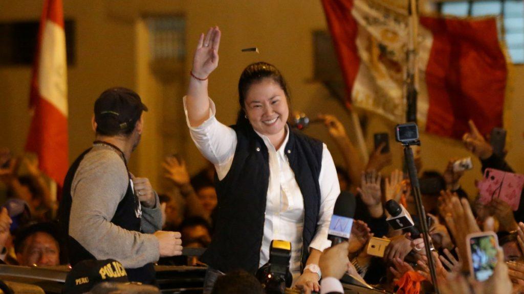 Keiko Fujimori. Perú