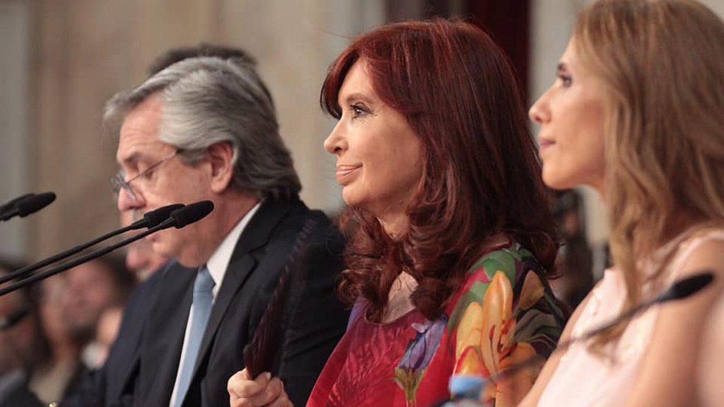 Foto: Facebook de Cristina Fernández de Kirchner