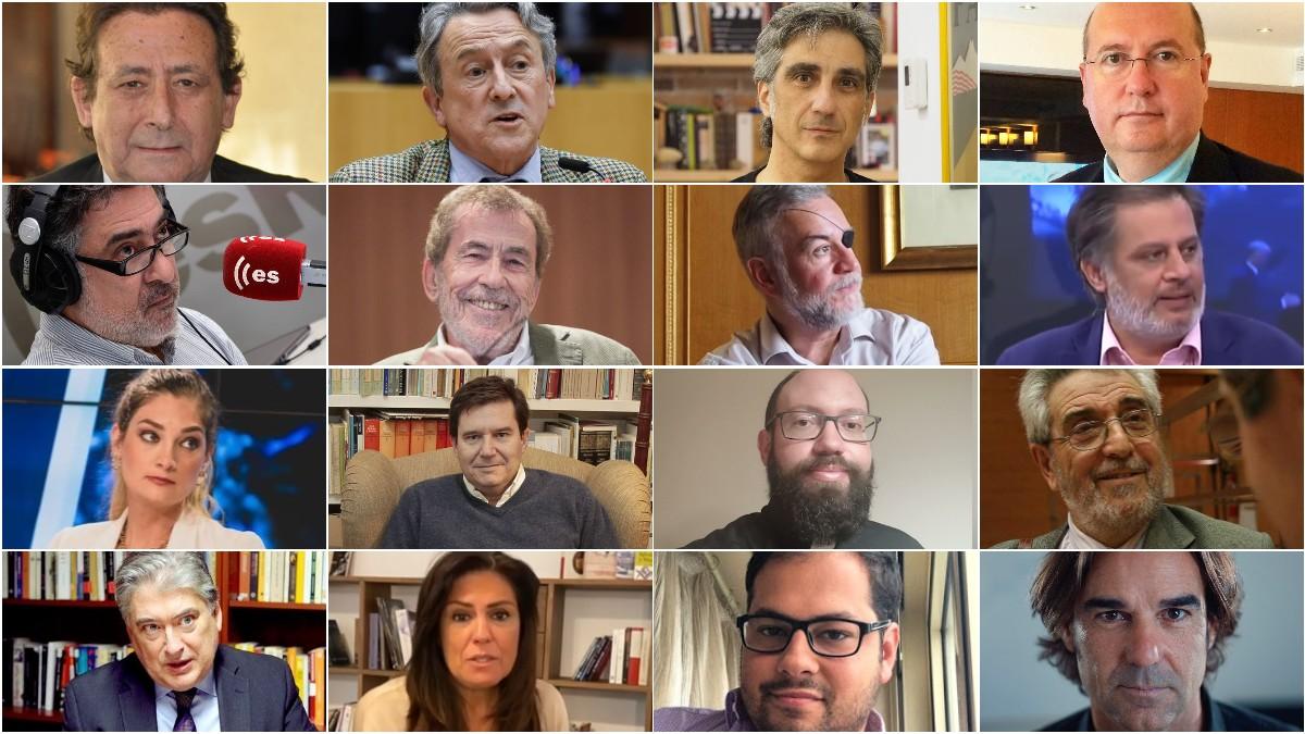 Dieciséis intelectuales y periodistas llaman en La Gaceta de la Iberosfera a acudir a la manifestación contra el indulto a los condenados por sedición
