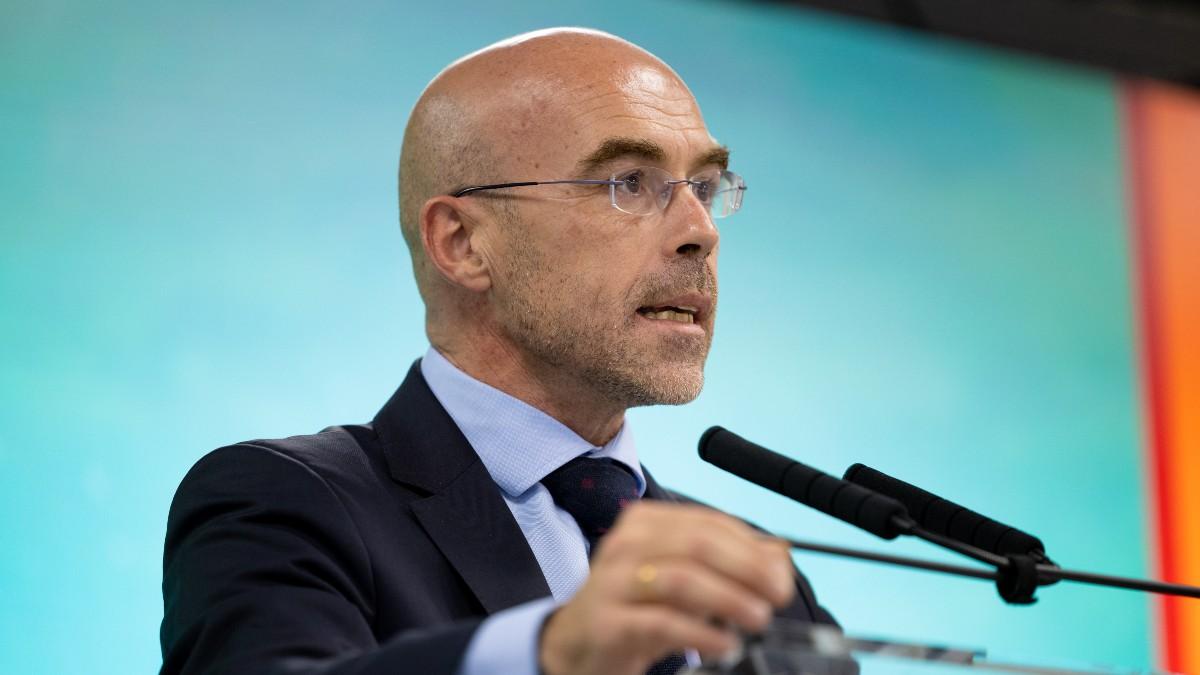El vicepresidente primero de Acción Política y eurodiputado de VOX, Jorge Buxadé.