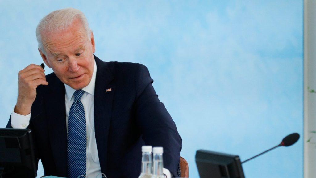 El presidente de Estados Unidos, Joe Biden. Europa Press