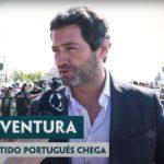 El líder del partido portugués CHEGA, André Ventura