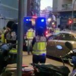 Momento en el que se practica la detención a los yihadistas en Barcelona – Fuente: FCSE