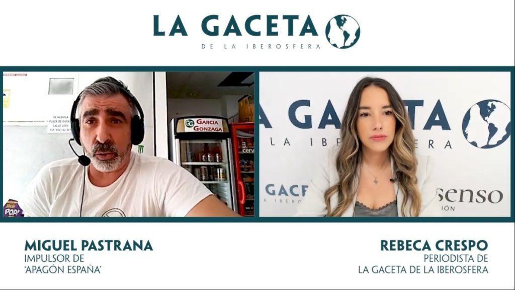 Entrevista a Miguel Pastrana de 'Apagón España'